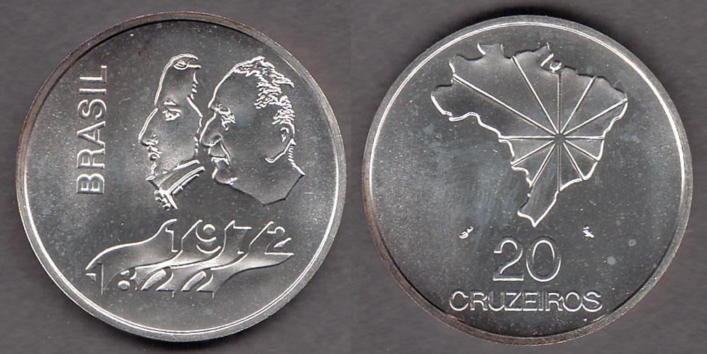1972 20 Cruzeiros