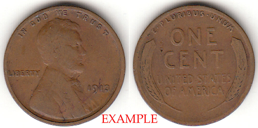 1913 1c Lincoln Cent