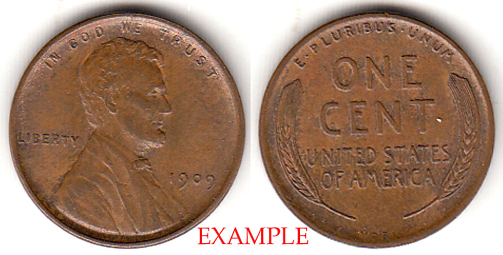 1909 VDB 1c First Year Lincoln Cent