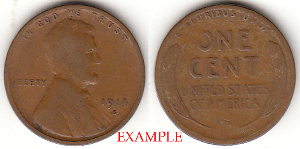 1914-S 1c Lincoln Cent