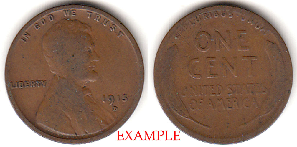 1915-D 1c Lincoln Cent