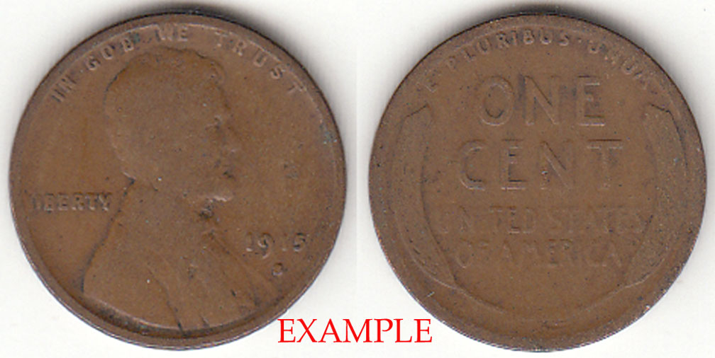 1915-S 1c Lincoln Cent