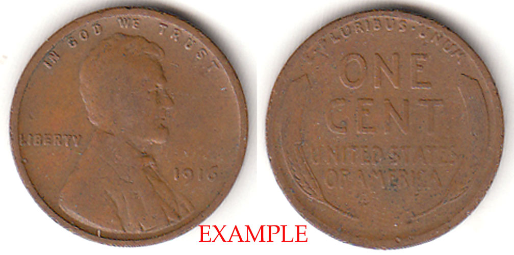 1916 1c Lincoln Cent