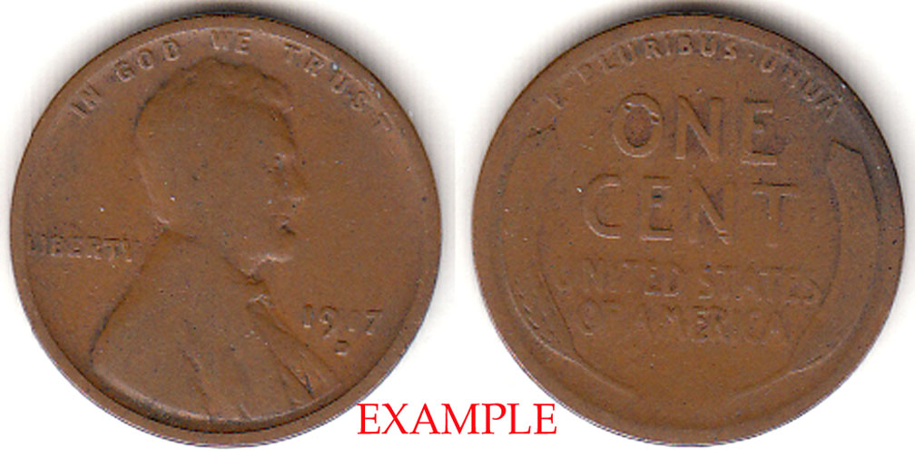 1917-D 1c Lincoln Cent