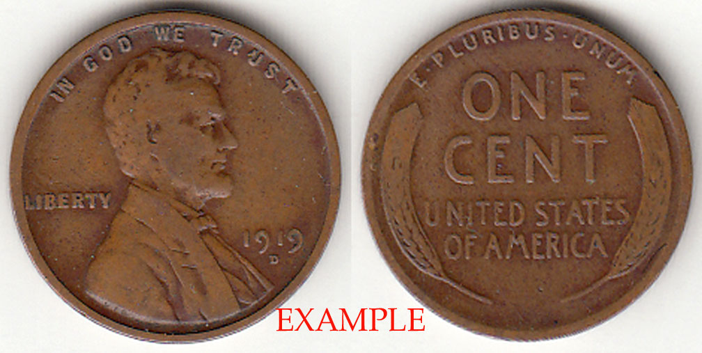 1919-D 1c Lincoln Cent