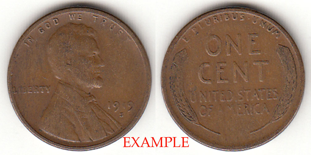 1919-S 1c Lincoln Cent
