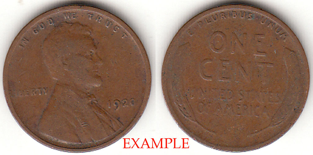 1920 1c Lincoln Cent