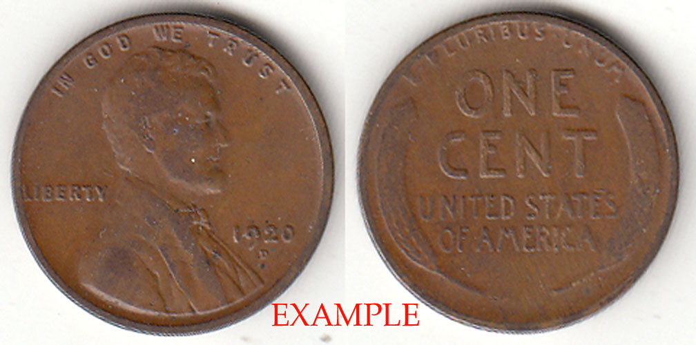 1920-D 1c Lincoln Cent