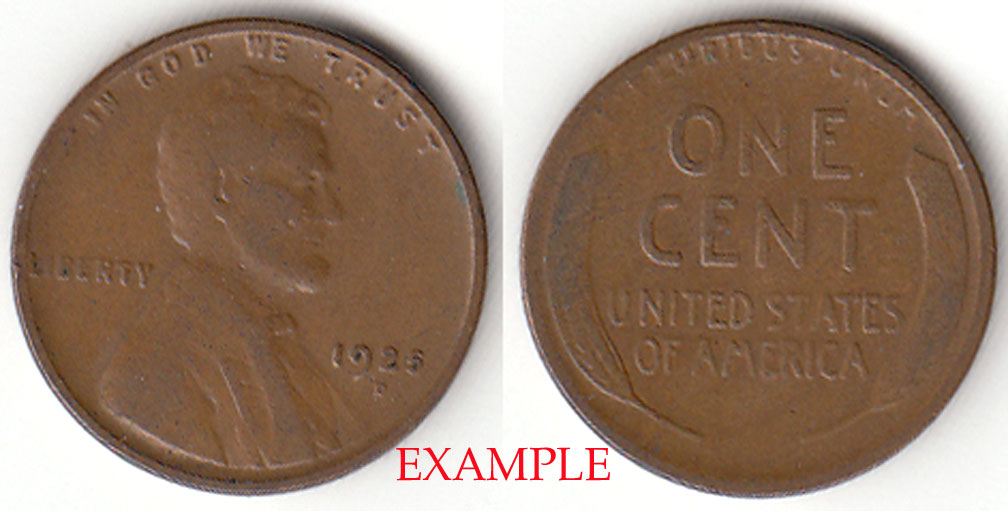 1925-D 1c US Lincoln Cent