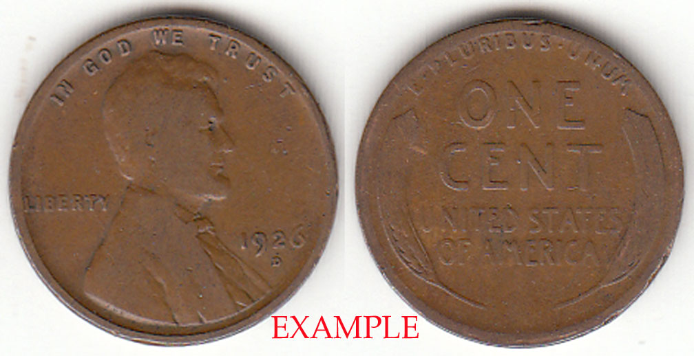 1926-D 1c US Lincoln Cent