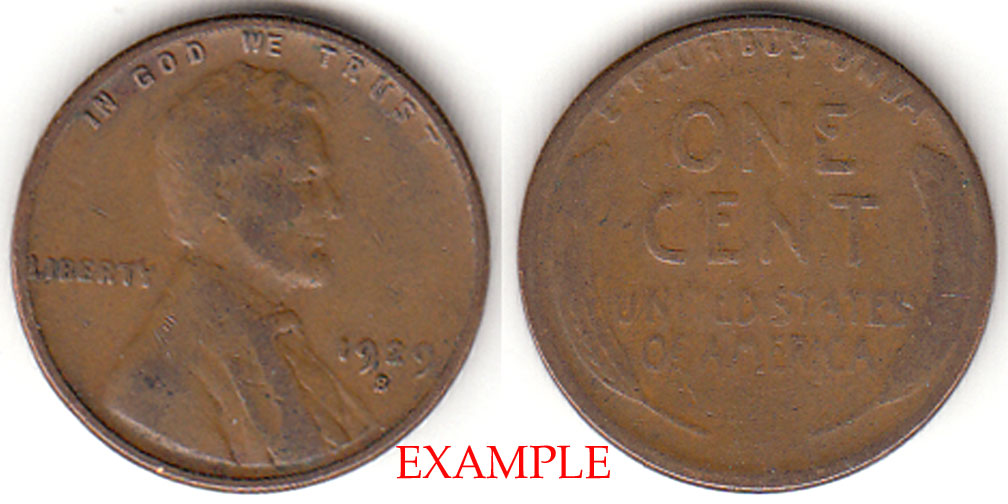 1929-S 1c US Lincoln wheat cent