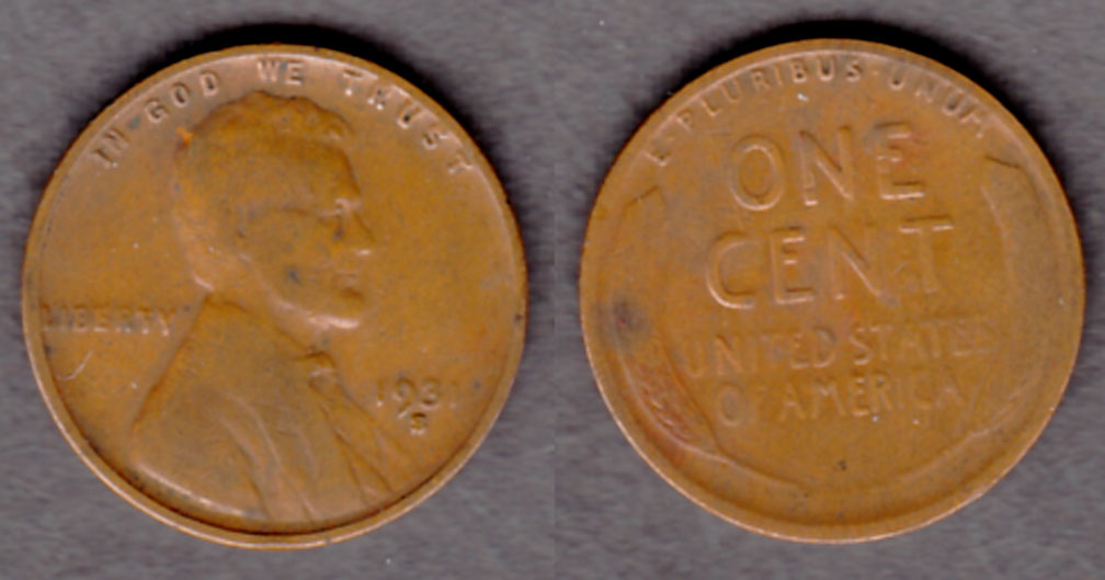 1931-S 1c collectable US lincoln wheat cent