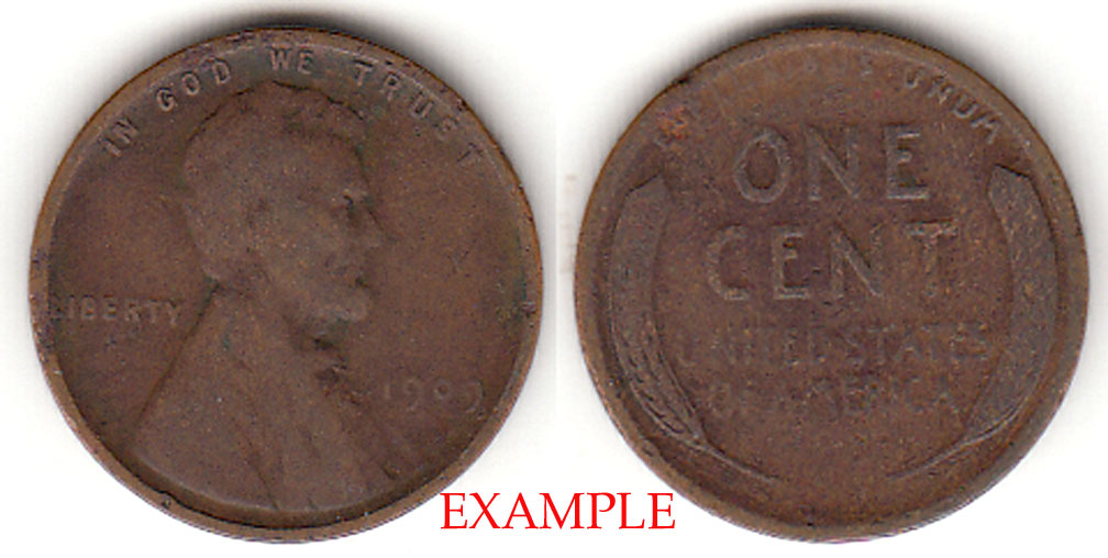 1909 1c Lincoln Cent