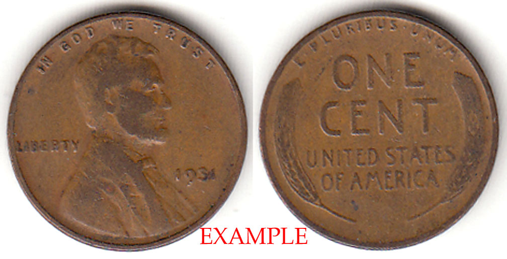 1931 1c US Lincoln Cent