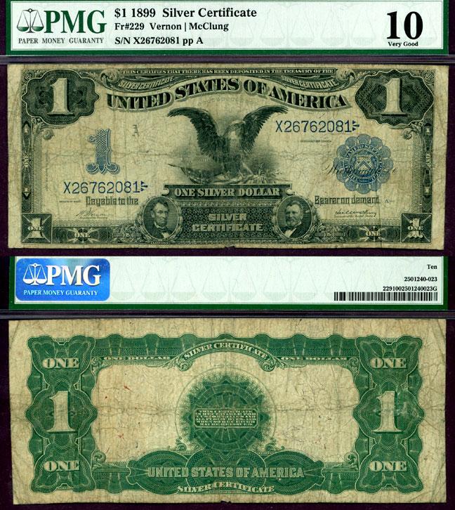 1899 $1.00 FR-229 | Corpus Christi Coin & Currency