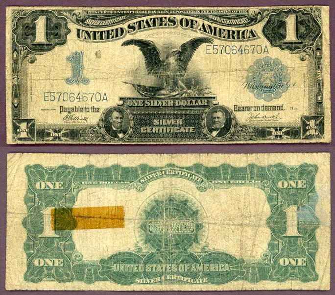 1899 $1.00 FR-234