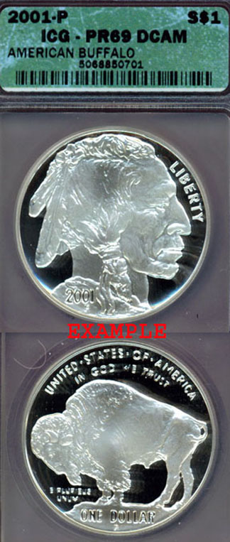 2001-P Buffalo $1.00