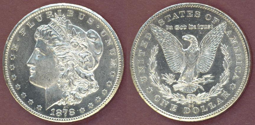 1878-CC $ Carson City Mint Morgan Silver Dollar