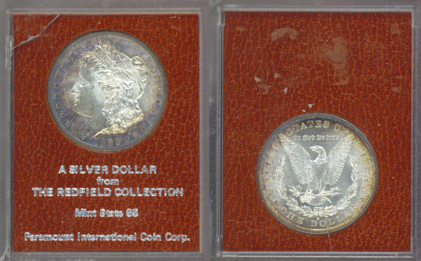 1882 S Redfield Hoard Corpus Christi Coin Amp Currency