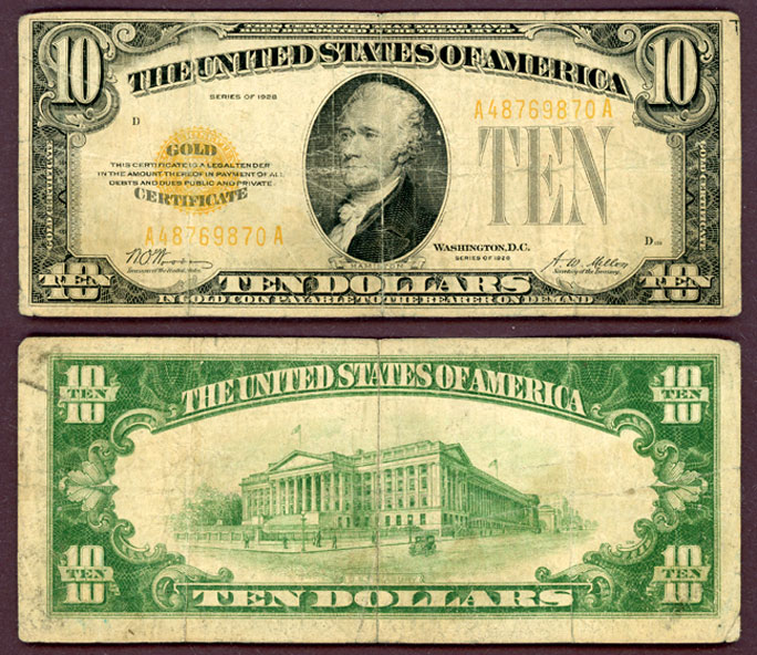 1928 - $10 FR-2400