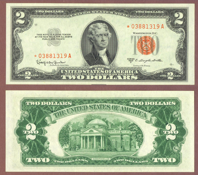 1953-C $2 STAR Note FR-1512*