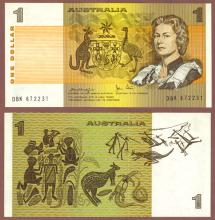 1979 1 Dollar Australia collectable currency