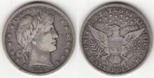 1903-S Barber Half Dollar, US silver half dollar