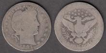 1901-O 25c US Barber quarter