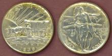 1936 Oregon Trail Commemorative Half Dollar, US silver commemorative half dollar