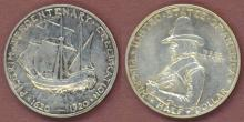 1920 Pilgrim Tercentenary Half Dollar, silver half dollar