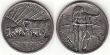 1926-S Oregon Trail US silver commemorative half dollar