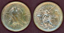 1934 Texas US commemorative silver half dollar Texas