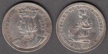 1893 Columbian Expo. Isabella Quarter US classic commemorative silver coins