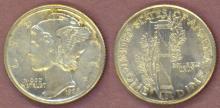 1928 10c US silver dime