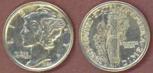 1924-D 10c US silver dime