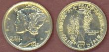 1923 10c US silver dime