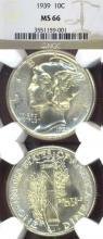 1939 10c Mercury Head silver dime