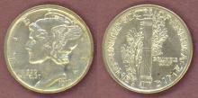 1919-S 10c US mercury head silver dime