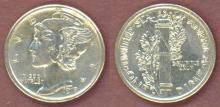 1918-S 10c US mercury silver dime