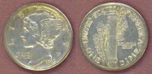 1916-S 10c US mercury silver dime