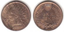 1906 1c Indian Cent
