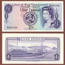 1979 1 Pound Isle of Man collectable currency
