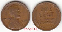 1926 1c US Lincoln Cent
