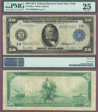 1914 $50.00 FR-1031a US large size federal reserve note