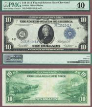 1914 $10 FR-919c Cleveland US large size federal reserve note