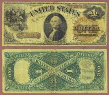 1880 $1.00 FR-30 Large US Legal Tender Note