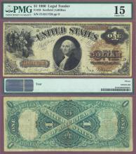 1880 $1.00 FR-28 US large size legal tender note