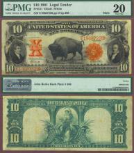 1901 $10.00 FR-121 US large size legal tender note