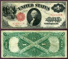 1917 $1.00 FR-37 US large size legal tender note