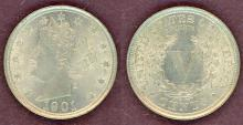 1901 5c AU+ US Liberty V nickel